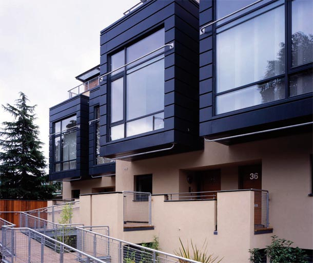 Townhouse Exterior Designs