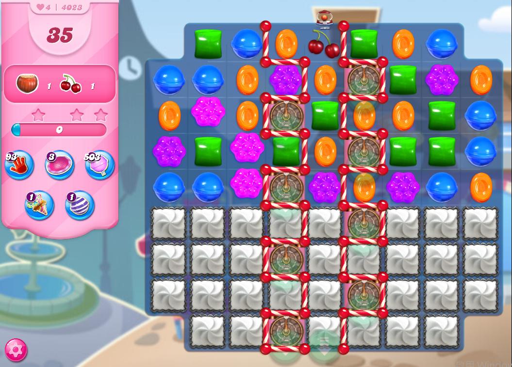 Candy Crush Saga level 4023
