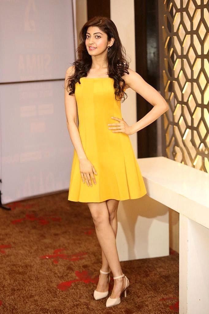 Pranitha Subhash Hot Thighs Photos