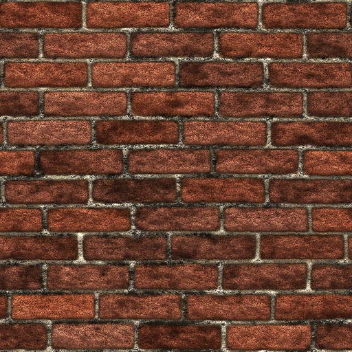 Old brick seamless tiling pattern 1