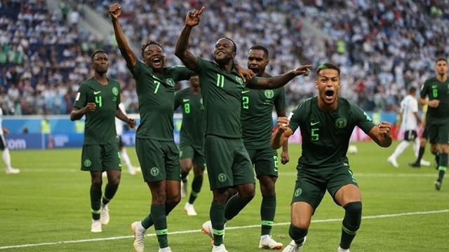 Hasil Pertandingan Nigeria vs Argentina - Piala Dunia 2018