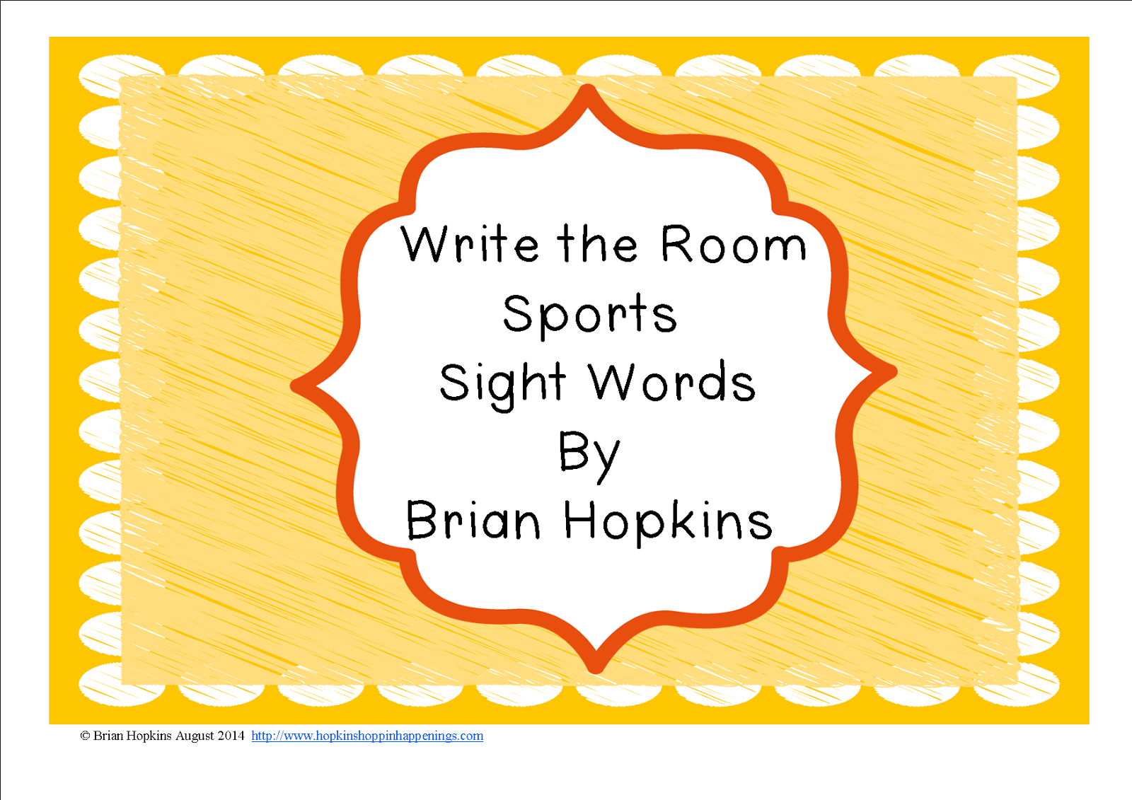 http://www.teacherspayteachers.com/Product/Write-The-Room-Sports-Sight-Words-FREEBIE-1394096
