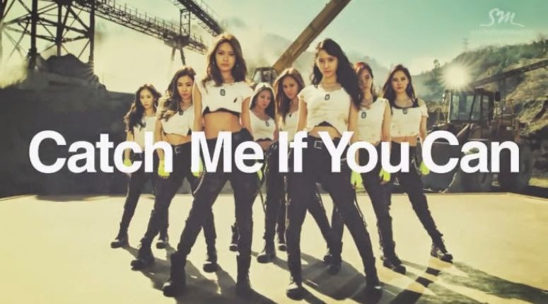 Girls Generation Catch Me If You Can music video girls generation catch me if you can mv girls generation catch me if you can mv teaser girls generation catch me if you can girls generation comeback Taeyeon Sunny Tiffany Hyoyeon Yuri Sooyoung Yoona Seohyun enjoy korea hui K-pop k pop