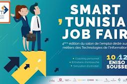 """e ratez pas l'événement,soyez nombreux à participer au salon """"Smart Tunisia Job Fair"""""""