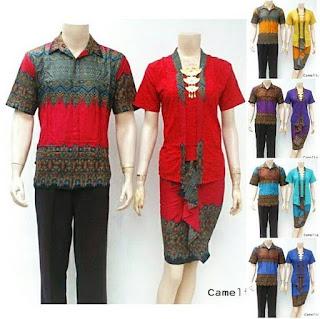 model baju batik sarimbit pasangan terbaru