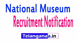 National Museum Recruitment Notification 2017