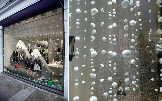 Marzua Ideas para decorar escaparates de invierno
