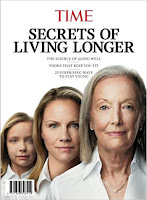 TIME Secrets of Living Longer The Science of Aging Well - Foods That Keep You Fit - 23 Surprising Ways to Stay Young