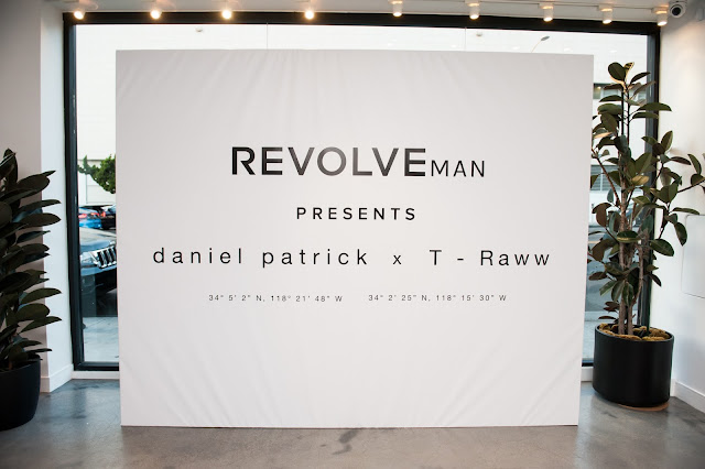daniel patrick x T - Raww for REVOLVEman Collaboration