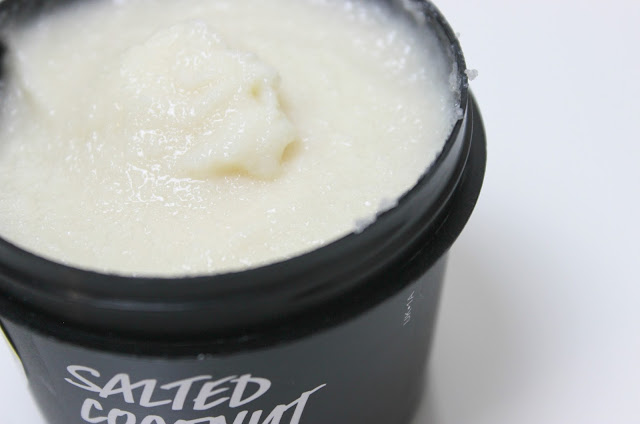 A picture of Lush Salted Coconut Hand Scrub