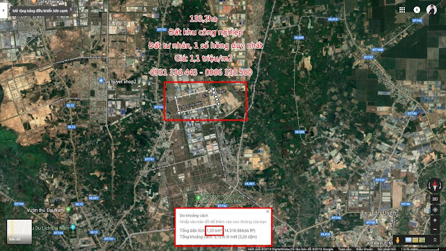 KCN Phú Tân 133,2ha tại Hoà Phú, Thủ Dầu Một, Bình Dương