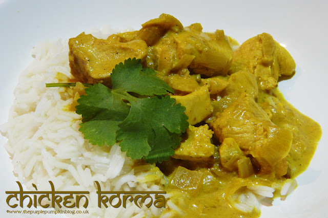 Chicken Korma Recipe - 294 calories per portion!