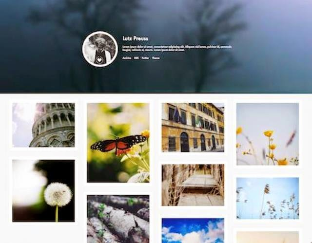 Autumn - Simple Free Tumblr Theme