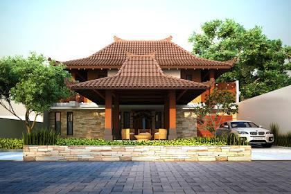 342+ Ide Desain Rumah Etnik Jawa Paling Hist