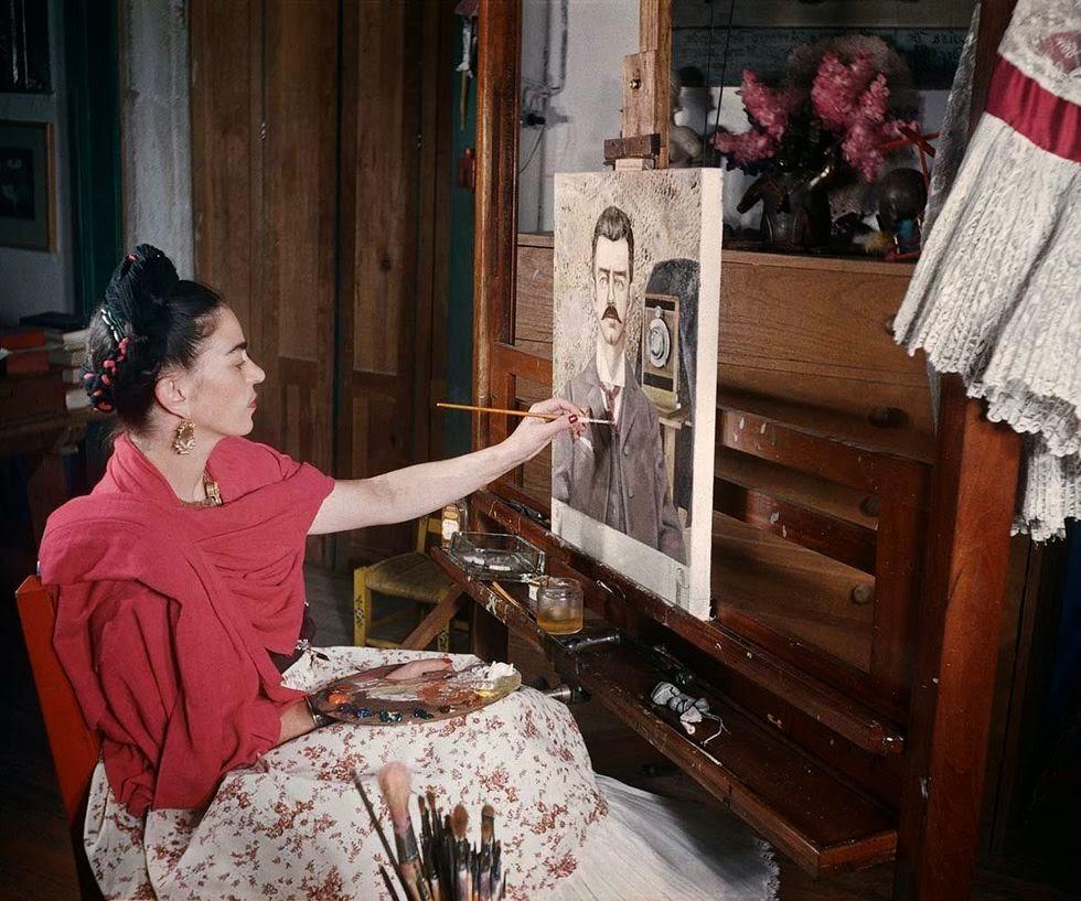 Rare and Loving Photos of Frida Kahlo From the Last Years ... Gisele Freund