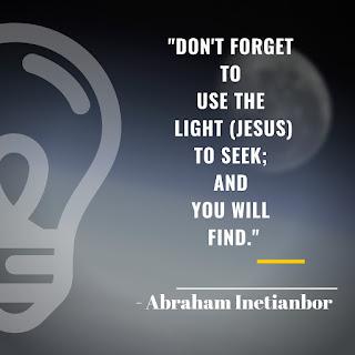 Jesus the light