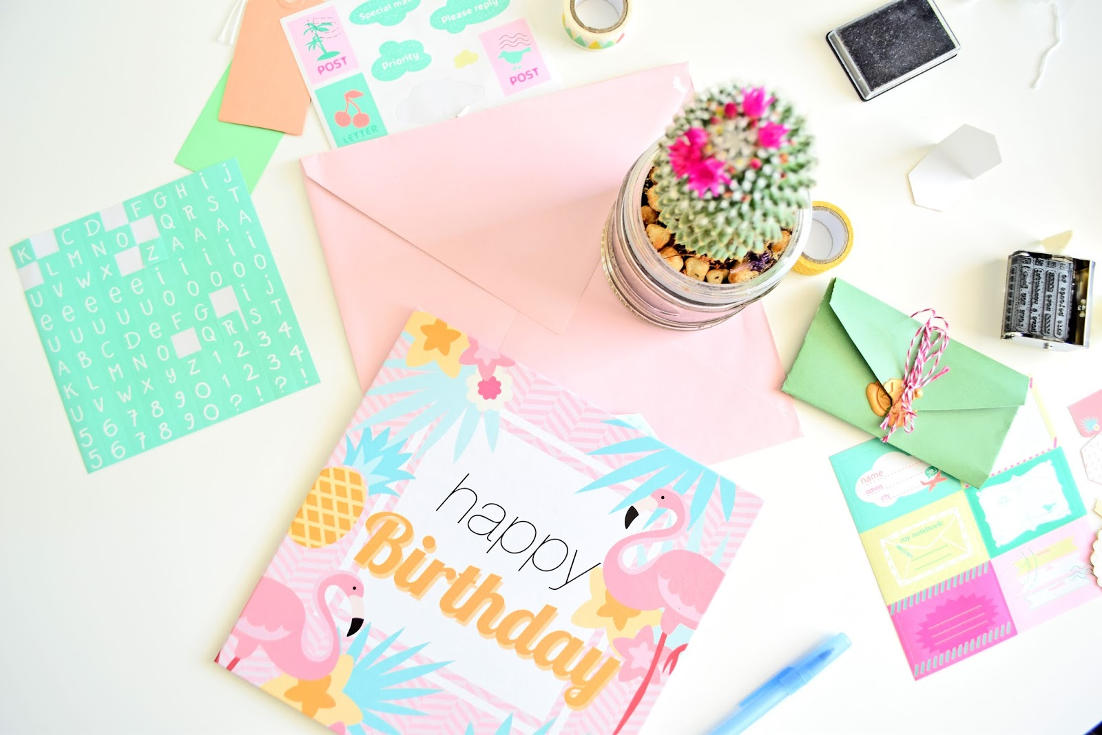 DIY Birth Day Card