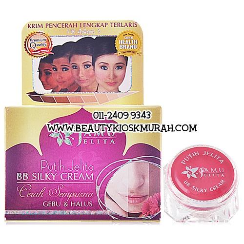 Putih Jelita BB Silky Cream Jamu Jelita