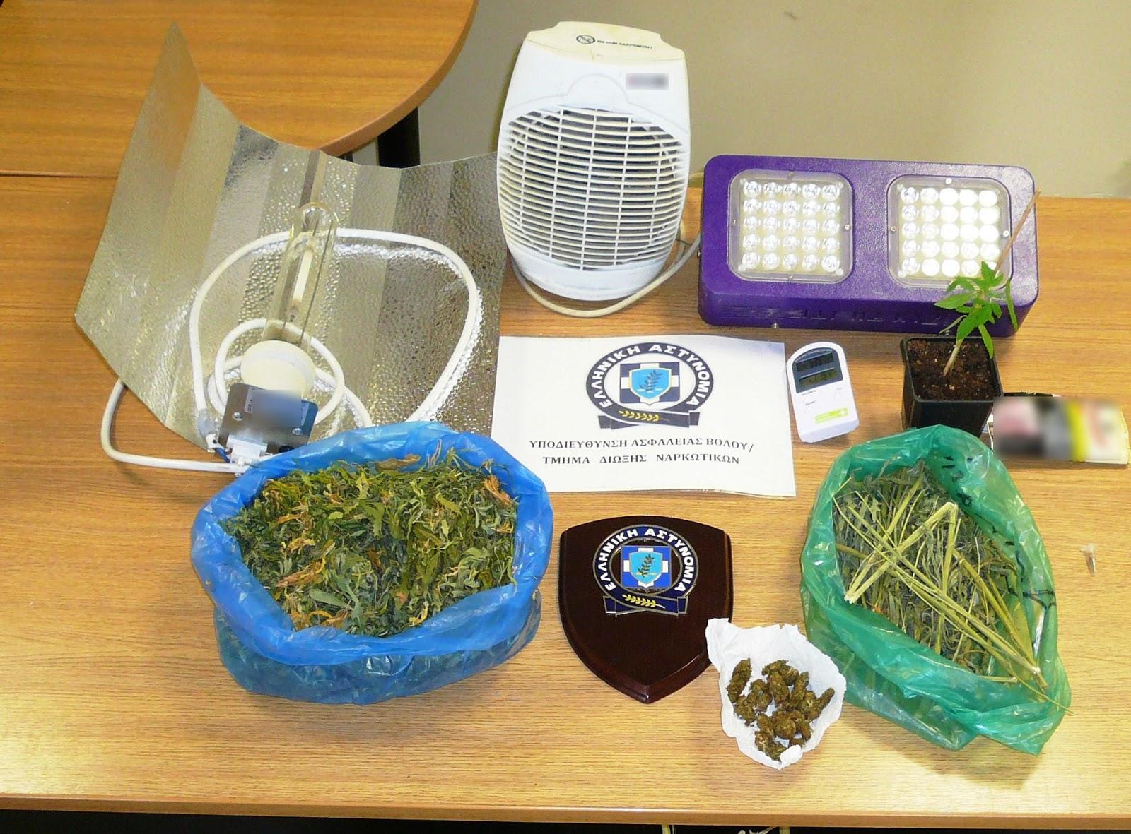 Συνελήφθη 40χρονος στο Βόλο για ναρκωτικά