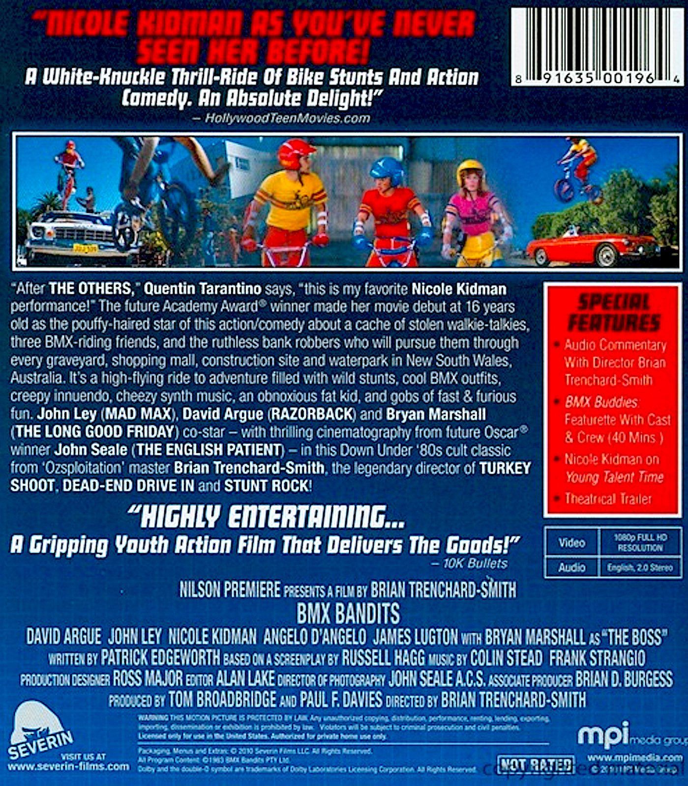 Blu-ray And Dvd Covers: SEVERIN AND INTERVISION BLU-RAYS