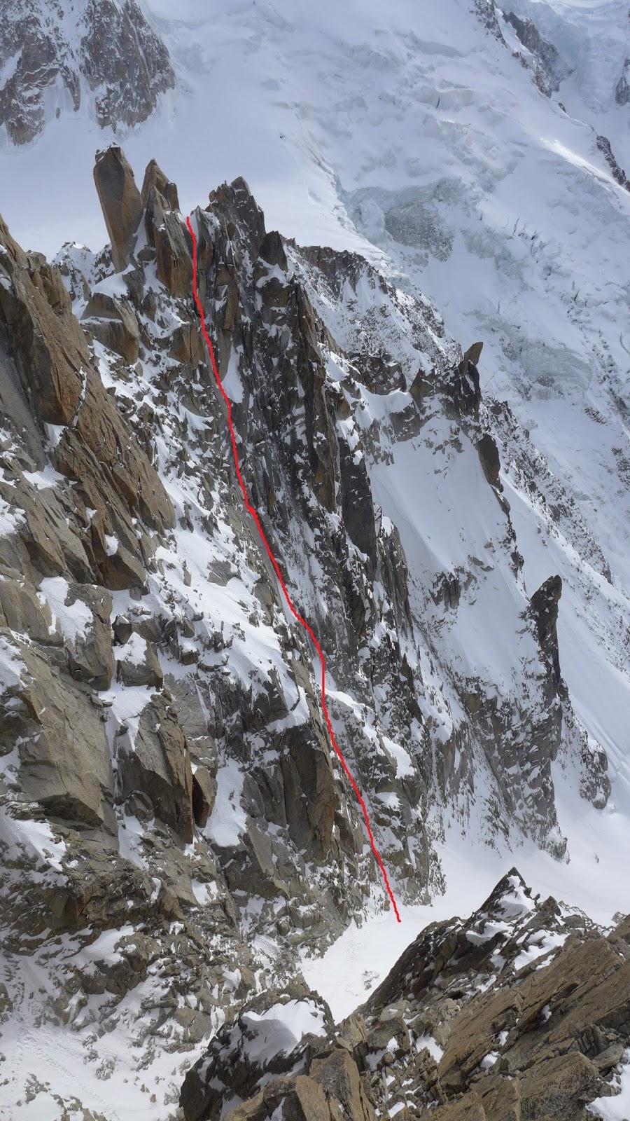Sergio deleo blog triangle du tacul aiguille du midi for Cabine di cresta antler