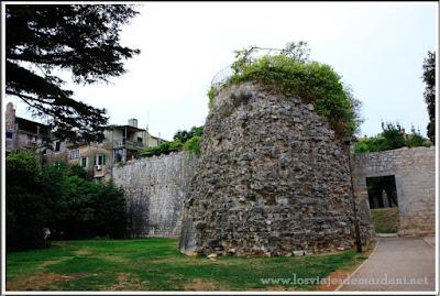 Torre de la Defensa de las murallas de Porec