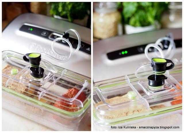 system pakowania prozniowego, pojemniki do zywnosci, jak przechowywac jedzenie,
