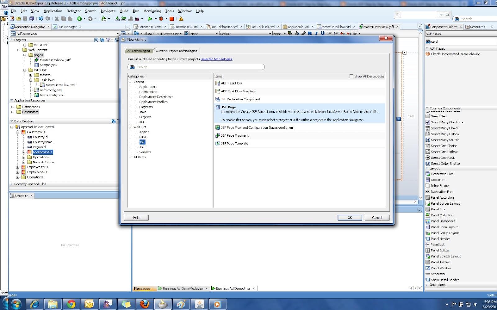 Oracle ADF Step by Step Guide - Oracle ADF Tutorial: June 2012