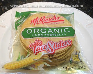 Mi Rancho Organic Corn Tortilla Sliders for Shrimp Tacos