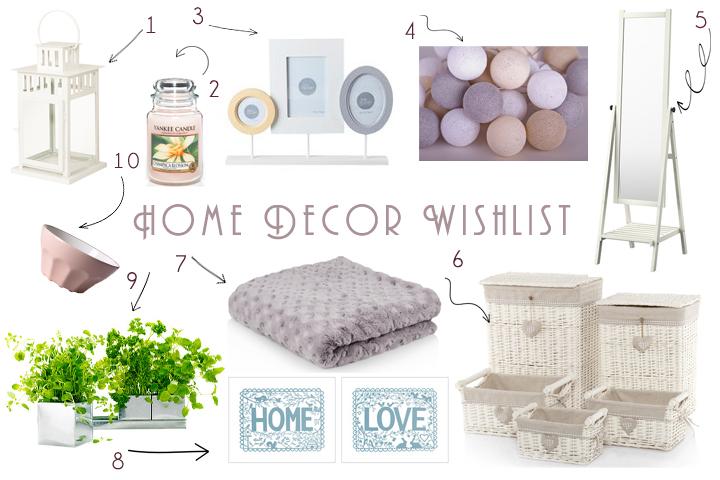 Jesienne wishlisty | Domowe dodatki, ubrania, kosmetyki