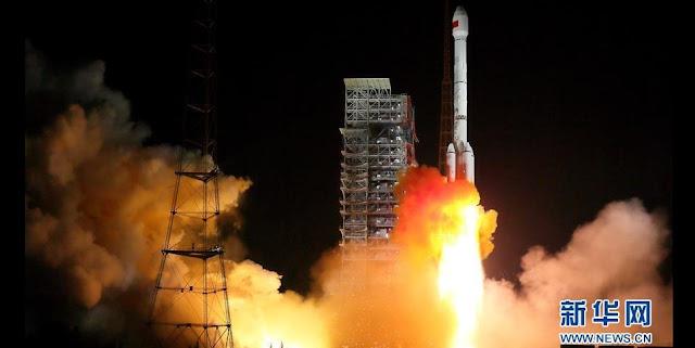 Long March 3B launch on November 5. Credit: news.cn