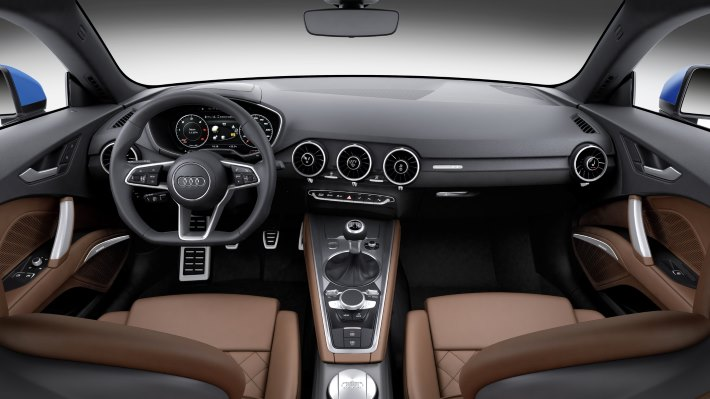 Wallpaper 5: Audi TT Coupe 2015 Interior