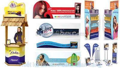 Thiết kế POSM - Sản xuất Booth POSM giá rẻ