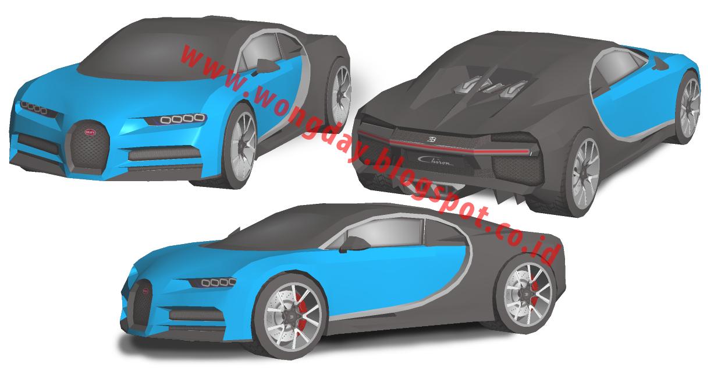Bugatti Veyron Papercraft Pdf