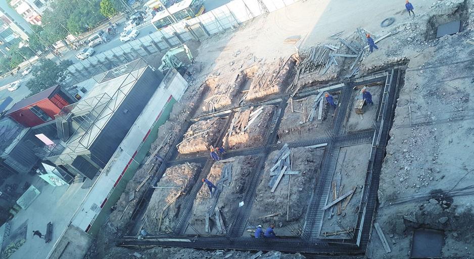 Tiện độ xây dựng dự án chung cư Sun Grand City số 3 Lương Yên