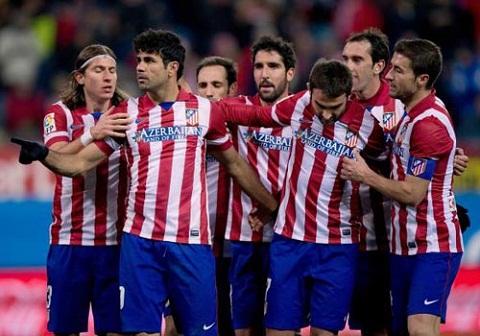 Ngày 16/11, đội bóng Atletico đã có buổi tập kín