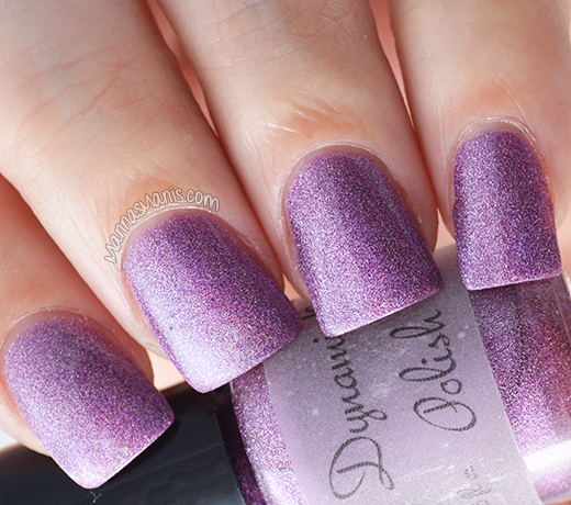 Dynamic Polish Gorgeous Grape swatch