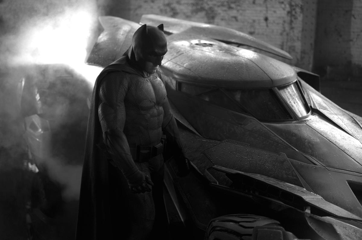 Ben Affleck în rolul Batman din Batman v Superman: Dawn Of Justice