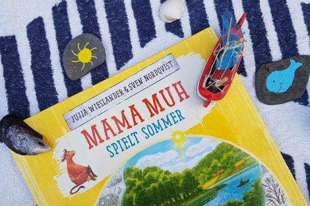 Mama Muh und die Küstenkinder spielen Sommer: Kinderbuch-Rezension und unsere Top 5 Ideen, um den Sommer ins Haus zu holen. Wir haben viele Ideen, um mit unseren Kindern den Sommer ins Haus zu holen!