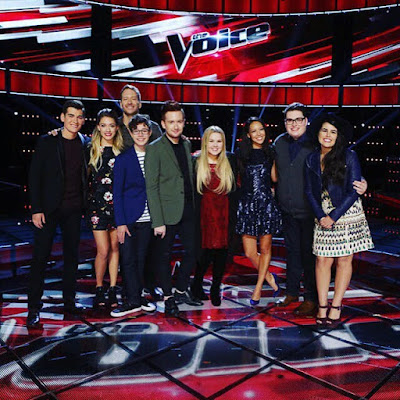 The Voice US Season 9 Final 4 artists revealed!