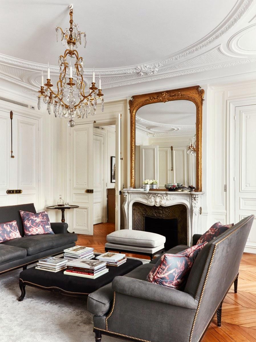 Decor inspiration parisian townhouse cool chic style for Appartamenti decor