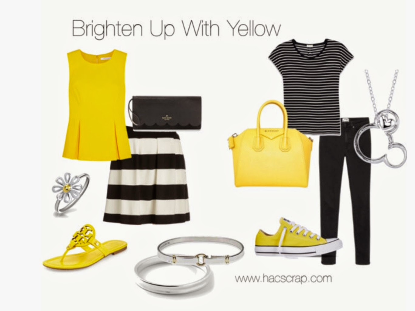 Incorporating Yellow into Your Spring and Summer Wardrobe