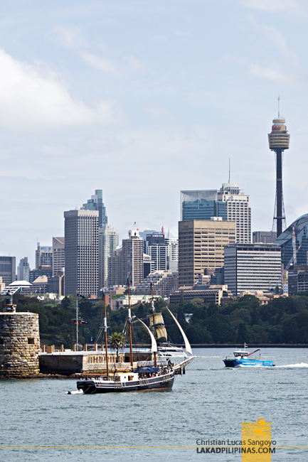 Sydney Harbour Cruise Skyline