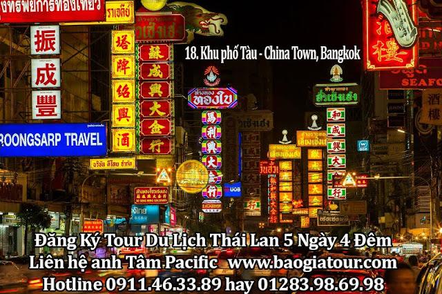 18. Khu phố Tàu - China Town, Bangkok