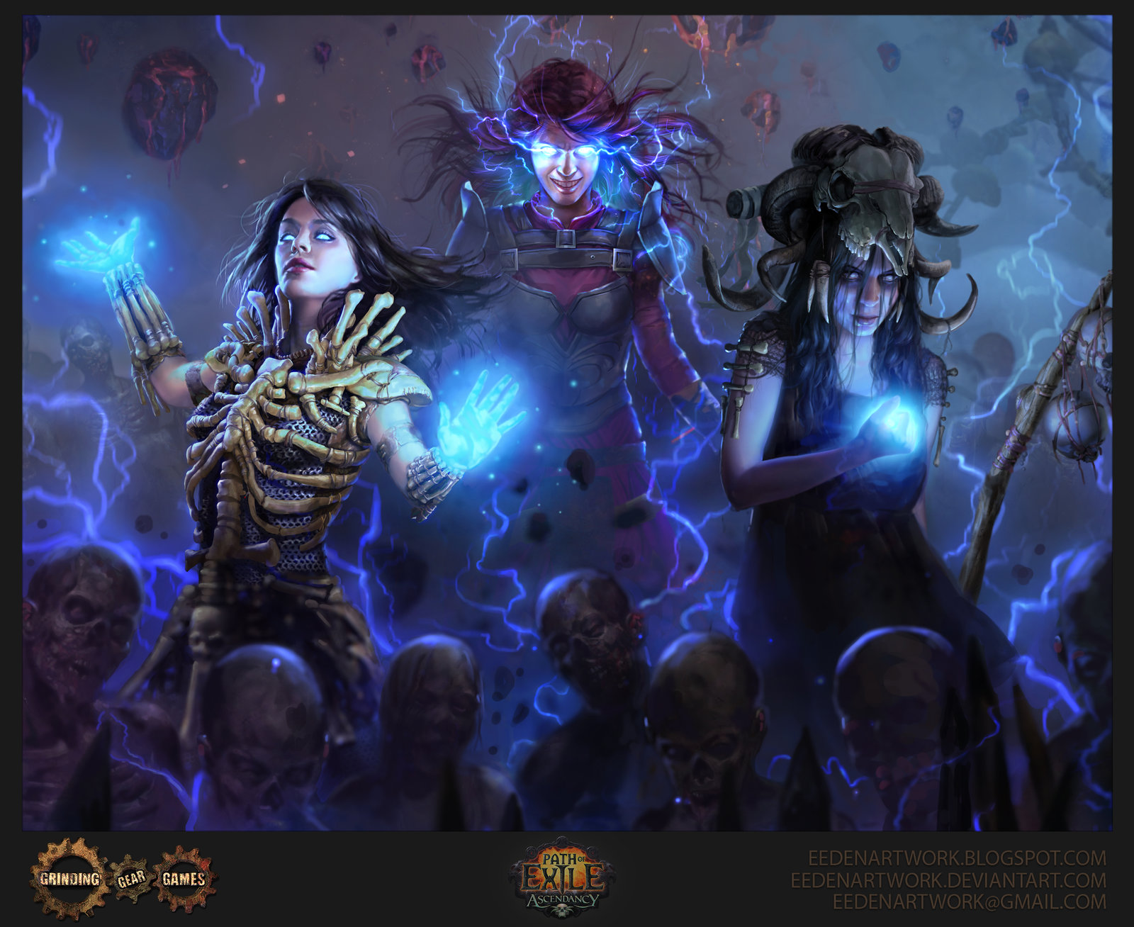 what s the greatest path of exile witch cold spells arctic breath builds