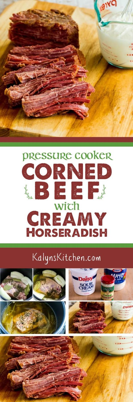 how to cook corned silverside in pressure cooker