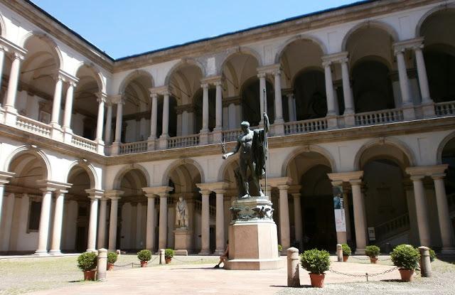 Galeria de Imagens Brera em Milão