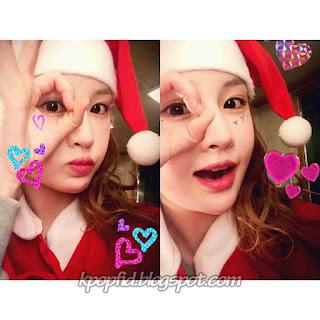 Foto Jeon Boram T-ara Acara Natal