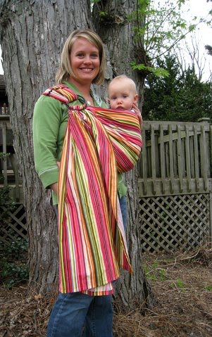 How To Be The Best Nanny Review Of Ring Sling Baby Carriers