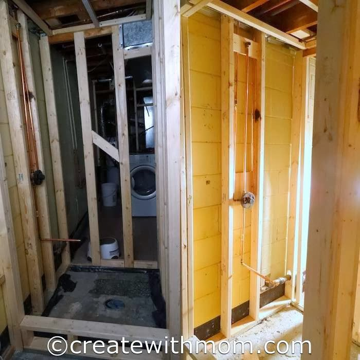 Messy Basement: Create With Mom: Our Completed DIY Modern, Eco-Friendly